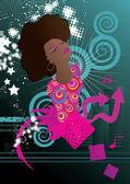 Soul müzik — Stok Vektör
