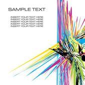 Colorful lines backdrop — Stockvektor
