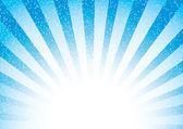 Abstract blue sunburst — Stock Vector