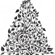 Royalty-Free Stock Imagen vectorial: Artistic pine tree