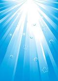 Light spread — Stock Vector