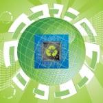Ecology technology — Stock Vector