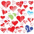 Hearts collection — Stock Vector #1924763