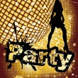 Stock Vector: Party background