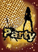 Party background — Vector de stock