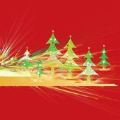 Christmas stationery — Stock Vector