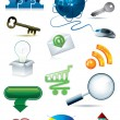Web icon set — Stock Vector #2200612