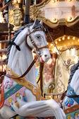 Cheval de bois d'un Caroussel — Stock Photo