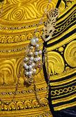 Traditional Breton costume — Stock Photo