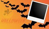 Cadre photo halloween — Stock Photo