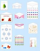 Envelopes de natal — Foto Stock