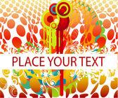 彩色的设计带有示例文本 — 图库矢量图片