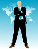 Businessman — Vetorial Stock