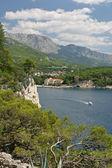 De jacht in de adriatische zee — Stockfoto