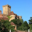 Stock Photo: Chateau Castelnau Bretenoux, France 3