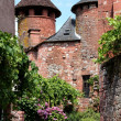 Stock Photo: Collonges lRouge, Limousin, France 3