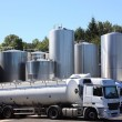 Refrigerated Milk Tankers — Stock Photo #1845893