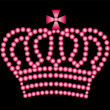 Stock Photo: Pink crown