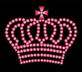 Pink crown — Stock Photo