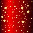 Stock Photo: Red star background