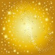 Stock Photo: Golden star background