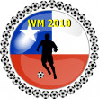 Stock Photo: World championship button chile