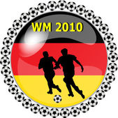 World championship button germany — Stock Photo