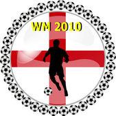 World championship button england — Stock Photo