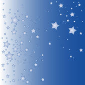 Blue star background — Stockvector