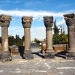 Zvartnots temple ruins,armenia — Stock Photo #1844440