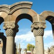 Zvartnots temple ruins,armenia — Stock Photo #1844665