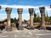 Zvartnots temple ruins,armenia — Stock Photo