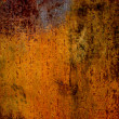 Stock Photo: Orange aged wall