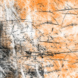 Stock Photo: Orange abstract background