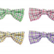Colorful bow ties — Stock Photo