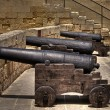 Medieval Cannons — Stock Photo