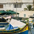 Malta Fishing Village — Lizenzfreies Foto