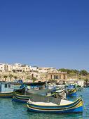 Malta fiskeläge — Stockfoto