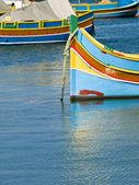 Malta rybářská vesnice — Stock fotografie