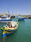 Vila de pescadores de malta — Foto Stock