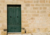 Mediterranean Baroque Door — Stock Photo