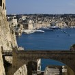Valletta Ditch and Bridge — Stock Photo