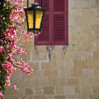 Mdina Lamppost — Stock Photo
