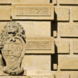 Stone Lion - Stock Photo