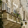 Mdina Balcony - Stock Photo