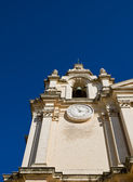 Mdina Cathedral Steeple — Stock Photo