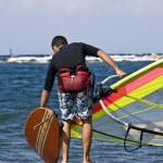 Windsurfing — Stock Photo
