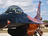 RNLAF Demoteam F-16 — Stock Photo