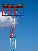Airfield Lighting Pylon — Stock Photo