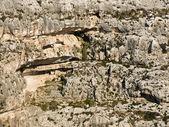 Mediterranean Cliff Face — Stock Photo